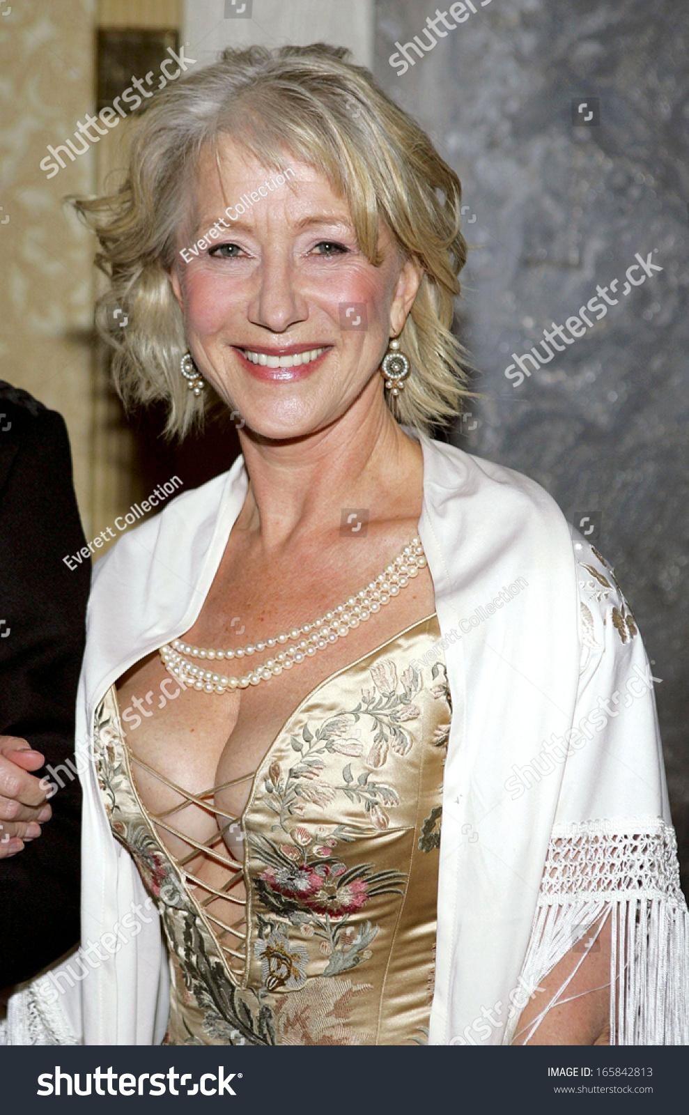 Helen Mirren Press Room 33rd International Stock Photo ...