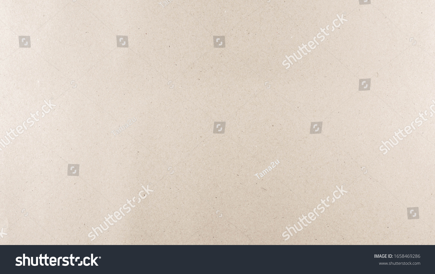 Abstract brown recycled paper texture background. Old Kraft paper box craft pattern. top view. #1658469286