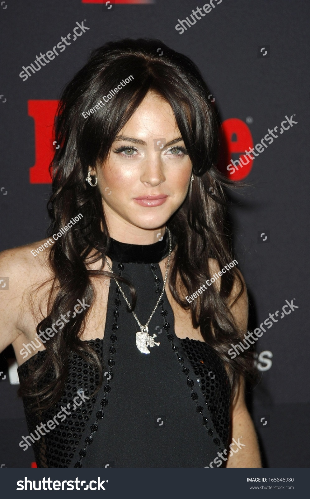 Lindsay Lohan at Teen People Fourth Annual Artist of the Year Party,  Element Nightclub,