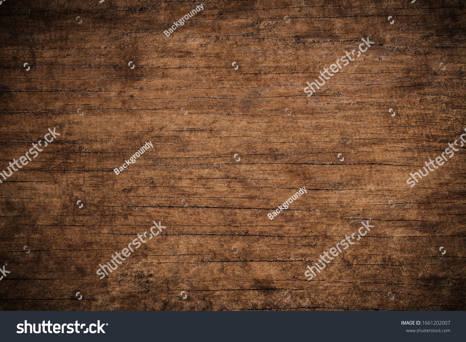 Old grunge dark textured wooden background,The surface of the old brown wood texture,top view brown teak wood paneling #1661202007