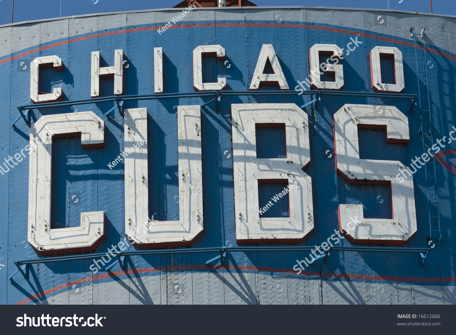 Chicago cubs sign wrigley field not stock photo 16612666 shutterstock chicago cubs sign at wrigley field not registered logo buycottarizona Images