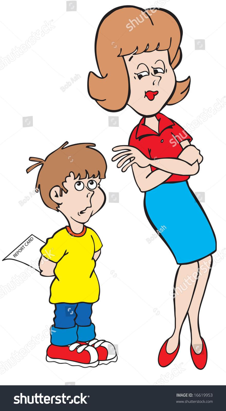 Cartoon mom and son sex