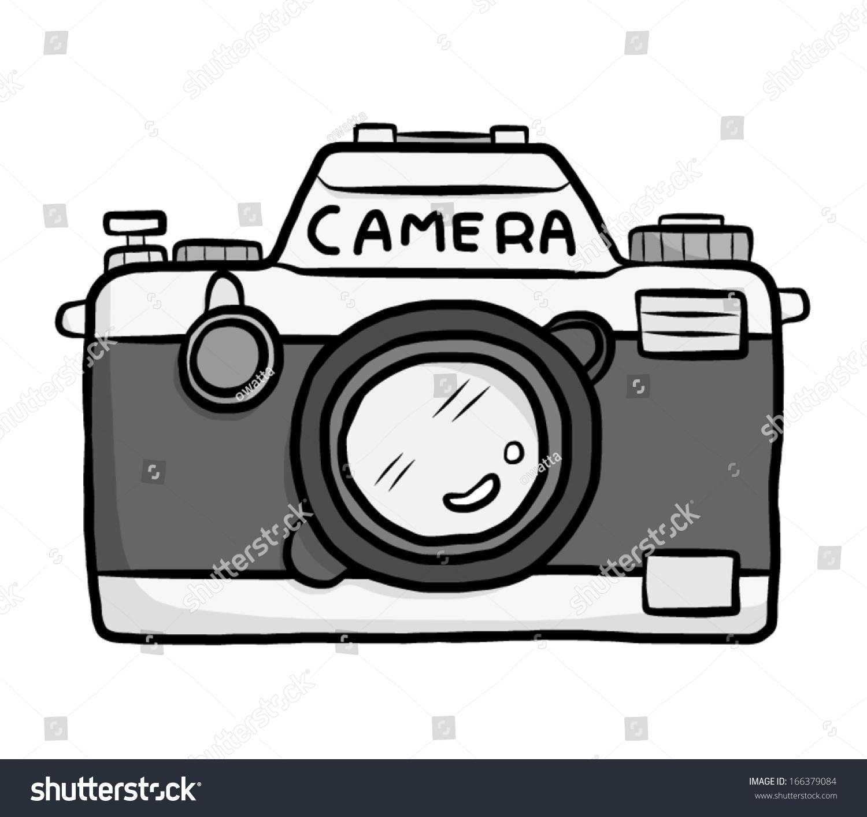 Classic Camera Cartoon Vector Illustration Isolated Stock Vector ...