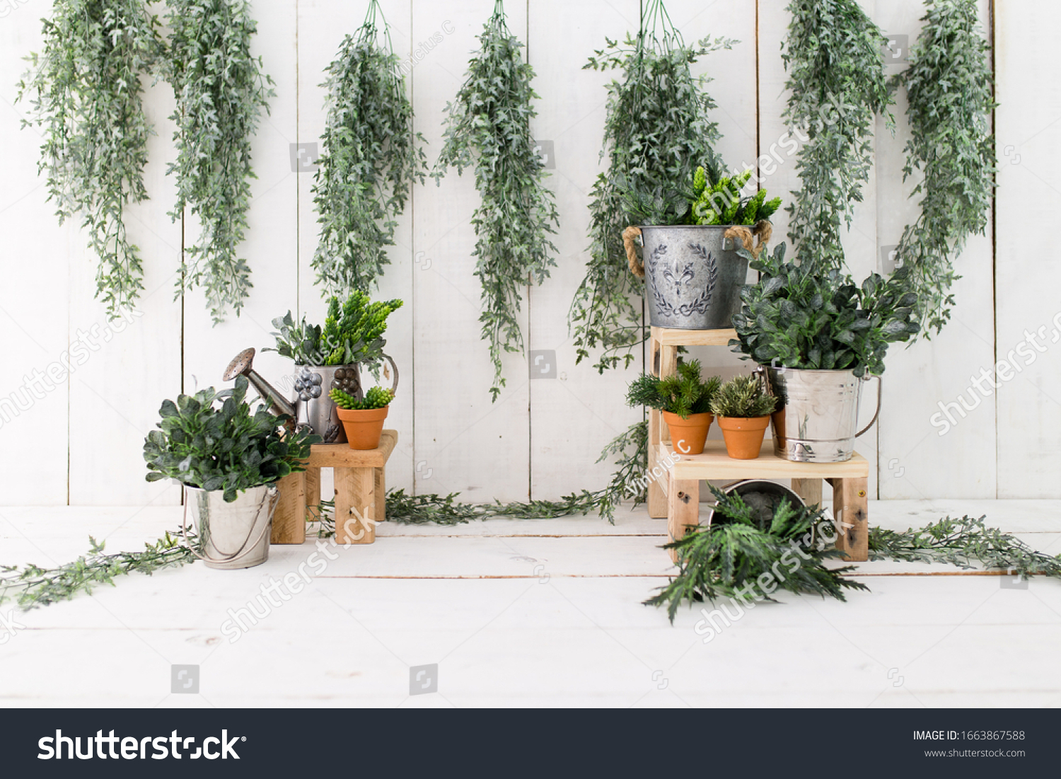 Garden backdrop for photosession. Garden background. Backdrop for baby sitter session. #1663867588
