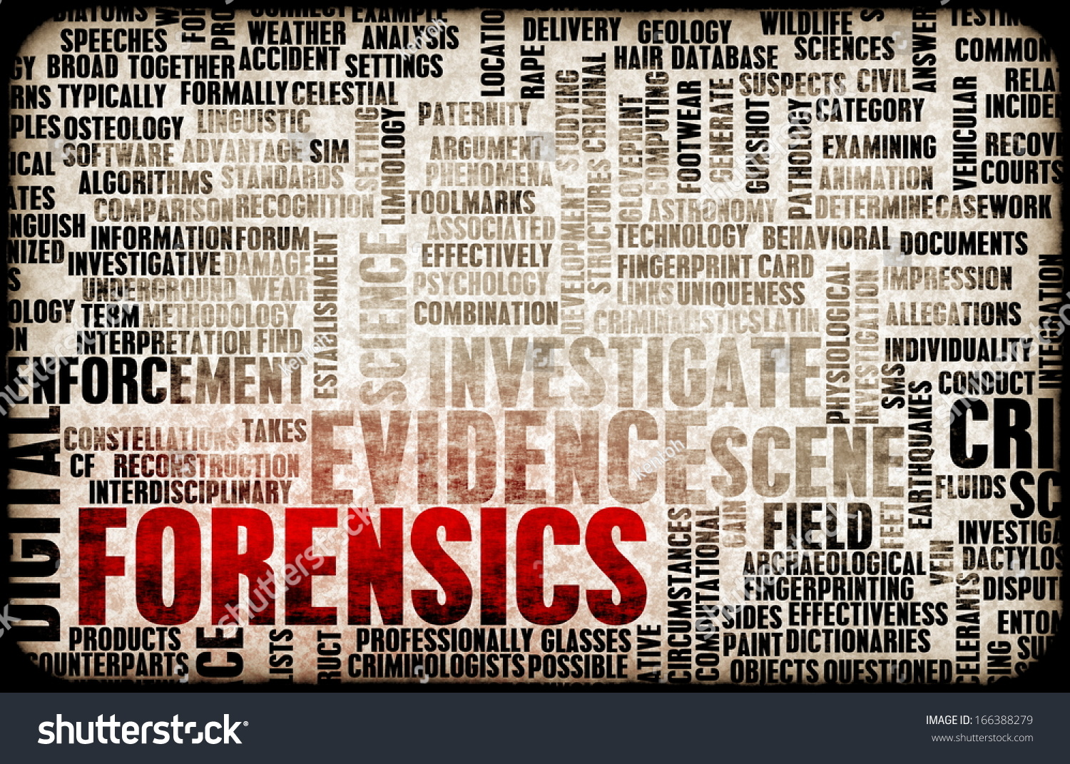 Forensic Science terms for getting high