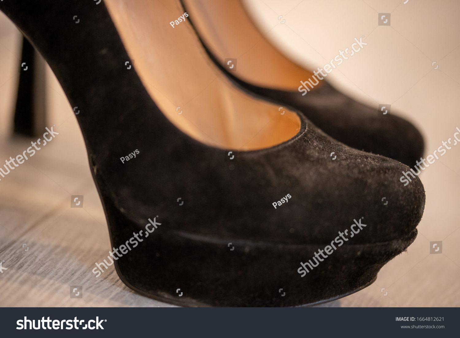stock-photo-a-close-up-of-a-women-s-shoe