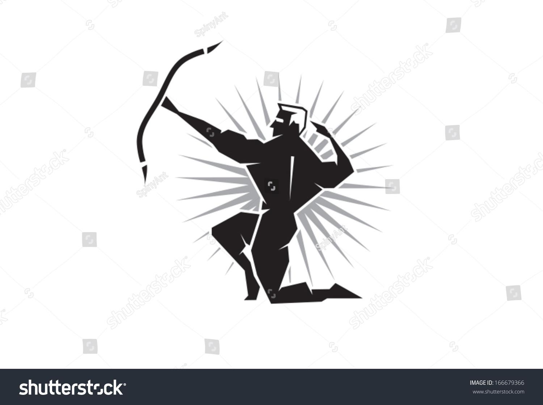 Illustration greek god apollo bearing bow stock vector 166679366 illustration of the greek god apollo bearing a bow and arrow biocorpaavc