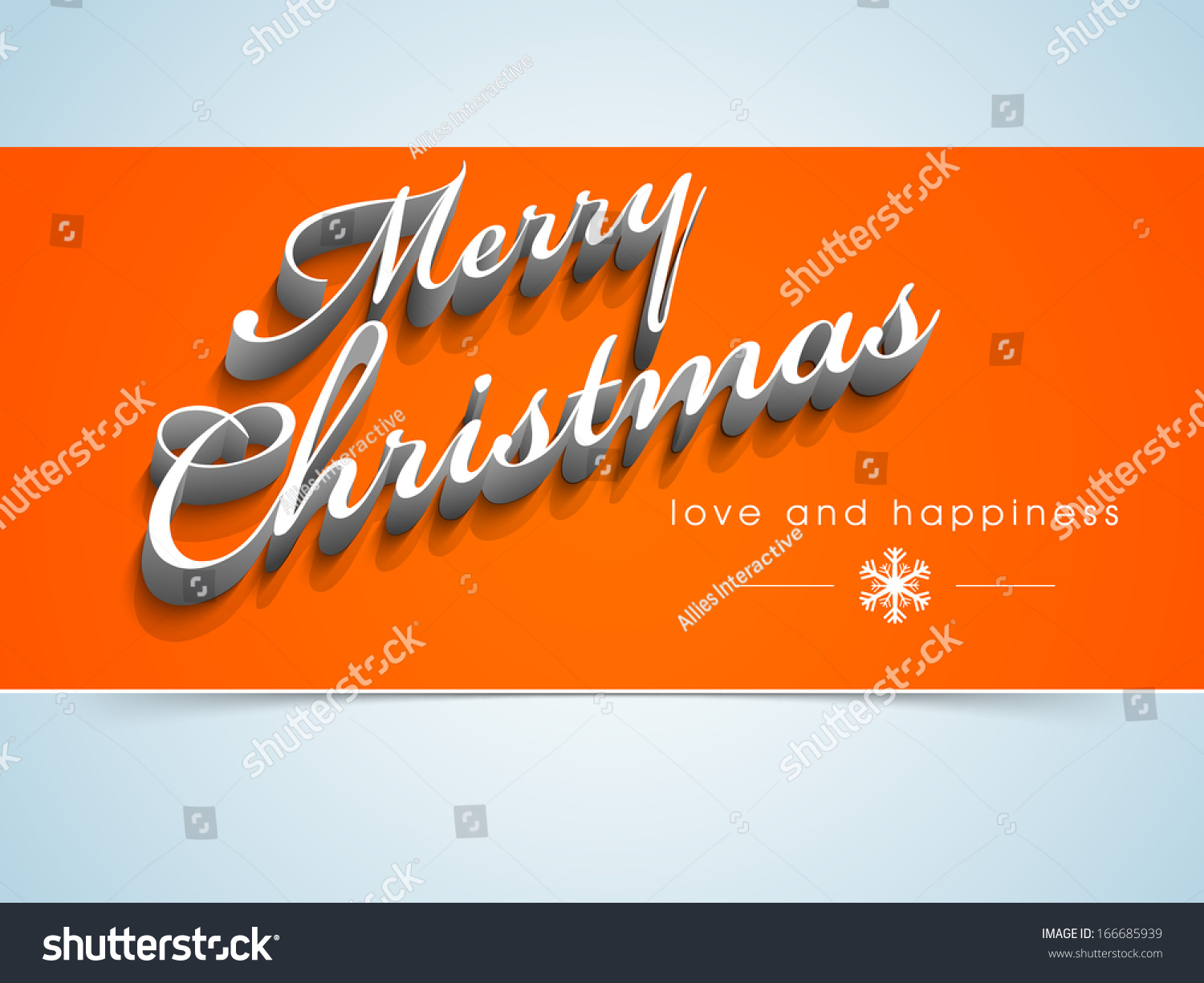 Merry christmas celebration greeting card invitation stock vector merry christmas celebration greeting card or invitation card with stylish text on orange and blue background kristyandbryce Image collections