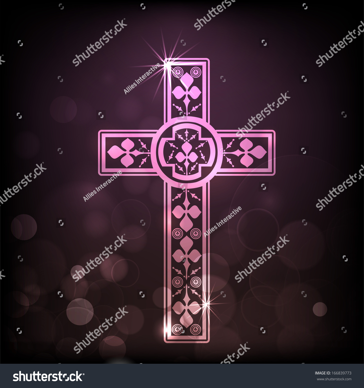 merry christmas and happy new year religious. merry christmas and happy new year 2014 celebration concept with christian cross religious