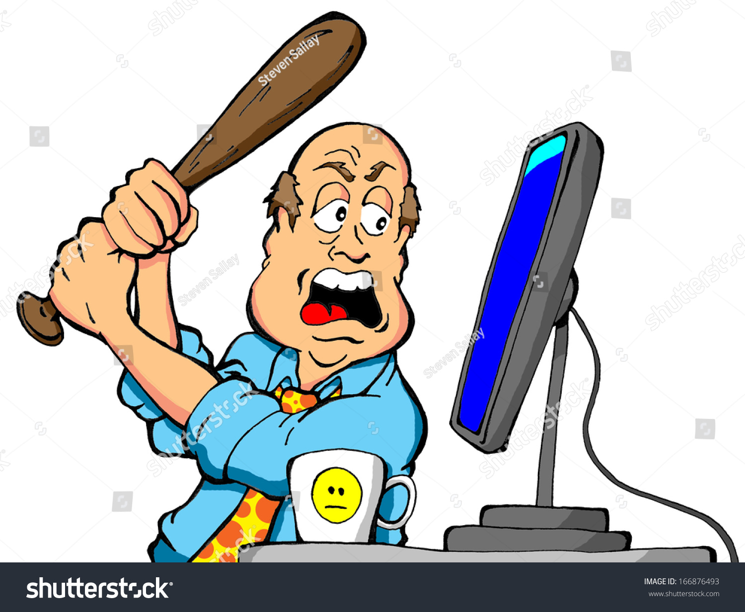 clipart frustrated man - photo #24