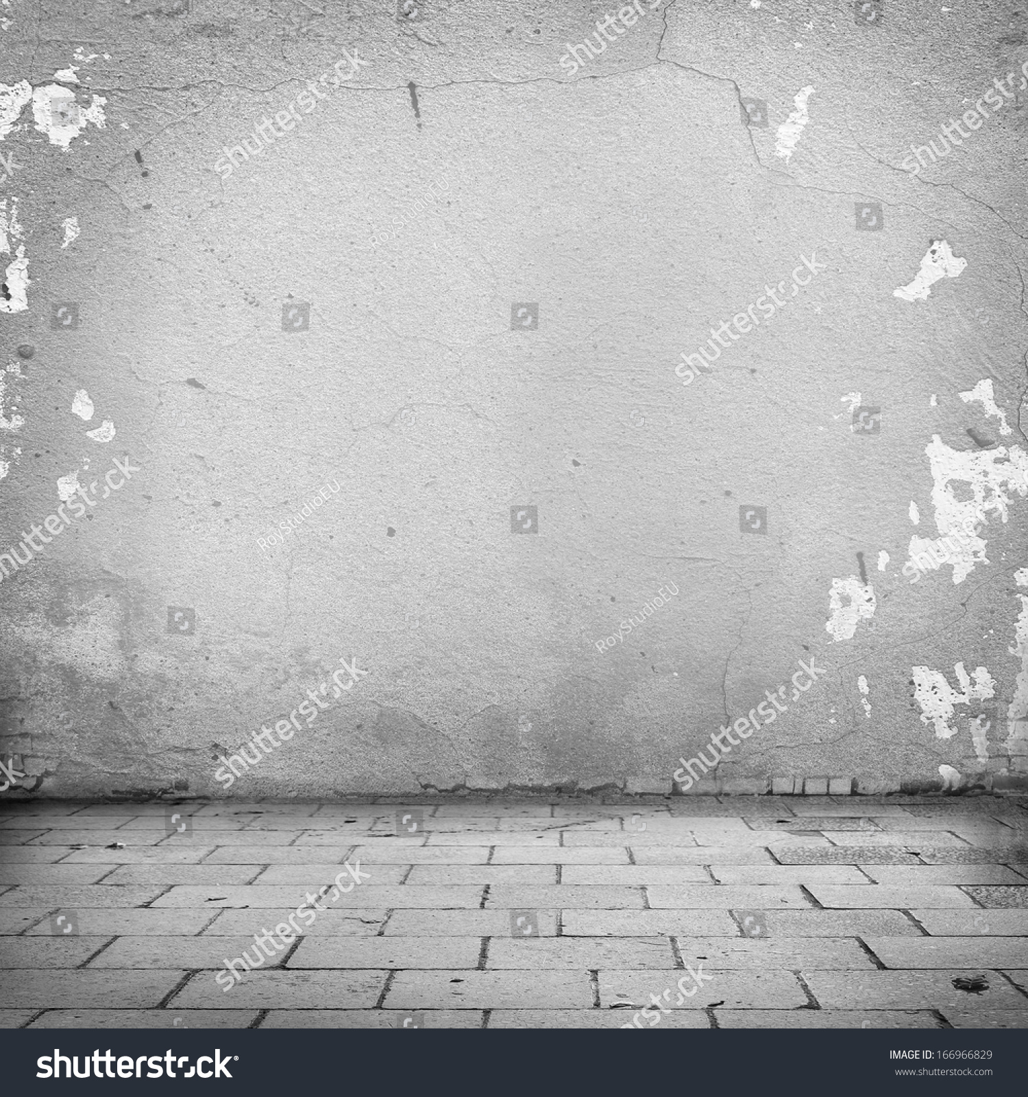 Grunge background white wall texture blocks stock for Exterior background