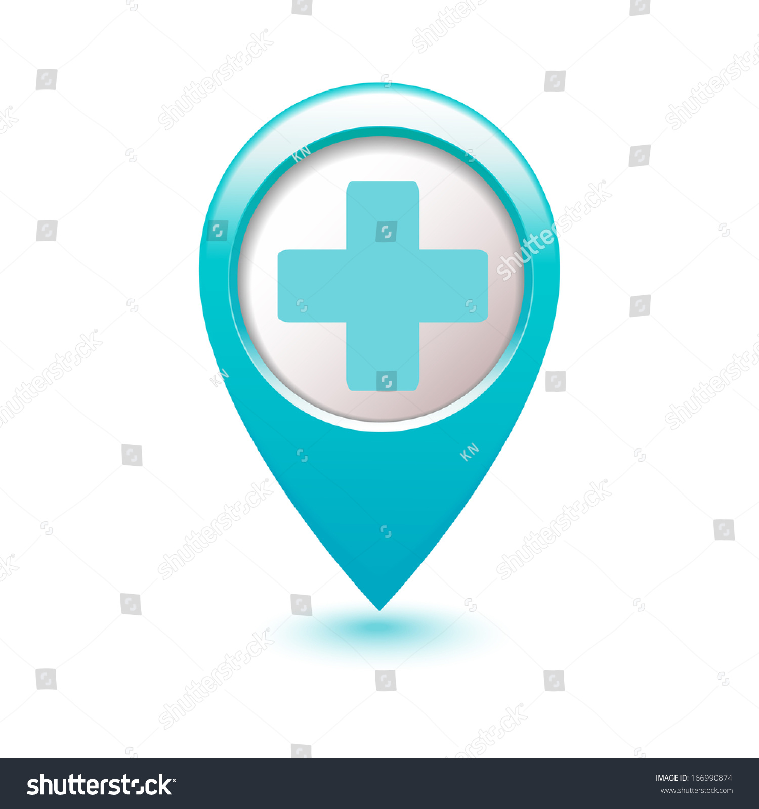 Medical icon cross on blue index stock vector 166990874 shutterstock medical icon cross on blue index cards biocorpaavc Gallery