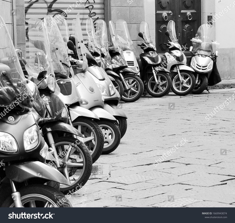 stock-photo--motorcycles-in-a-row-floren