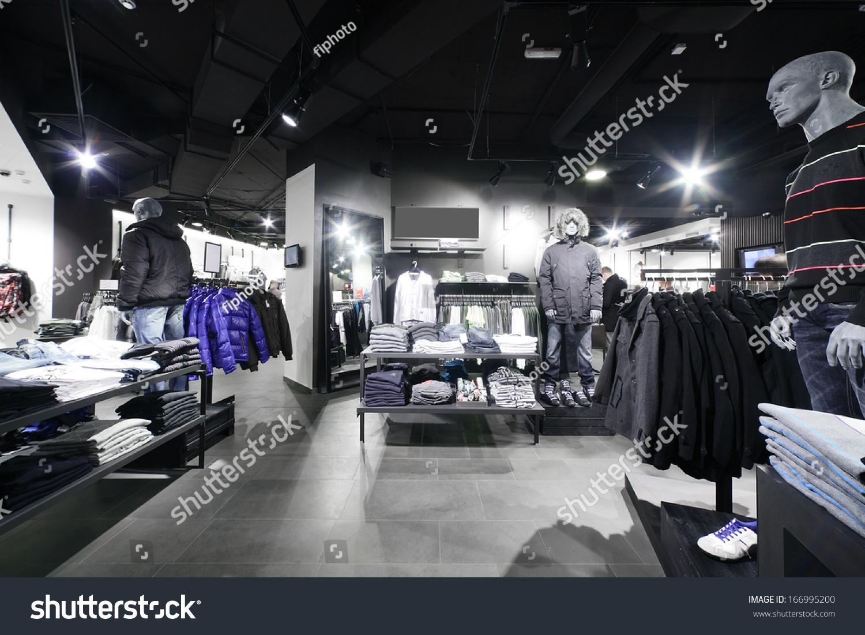 European clothing store