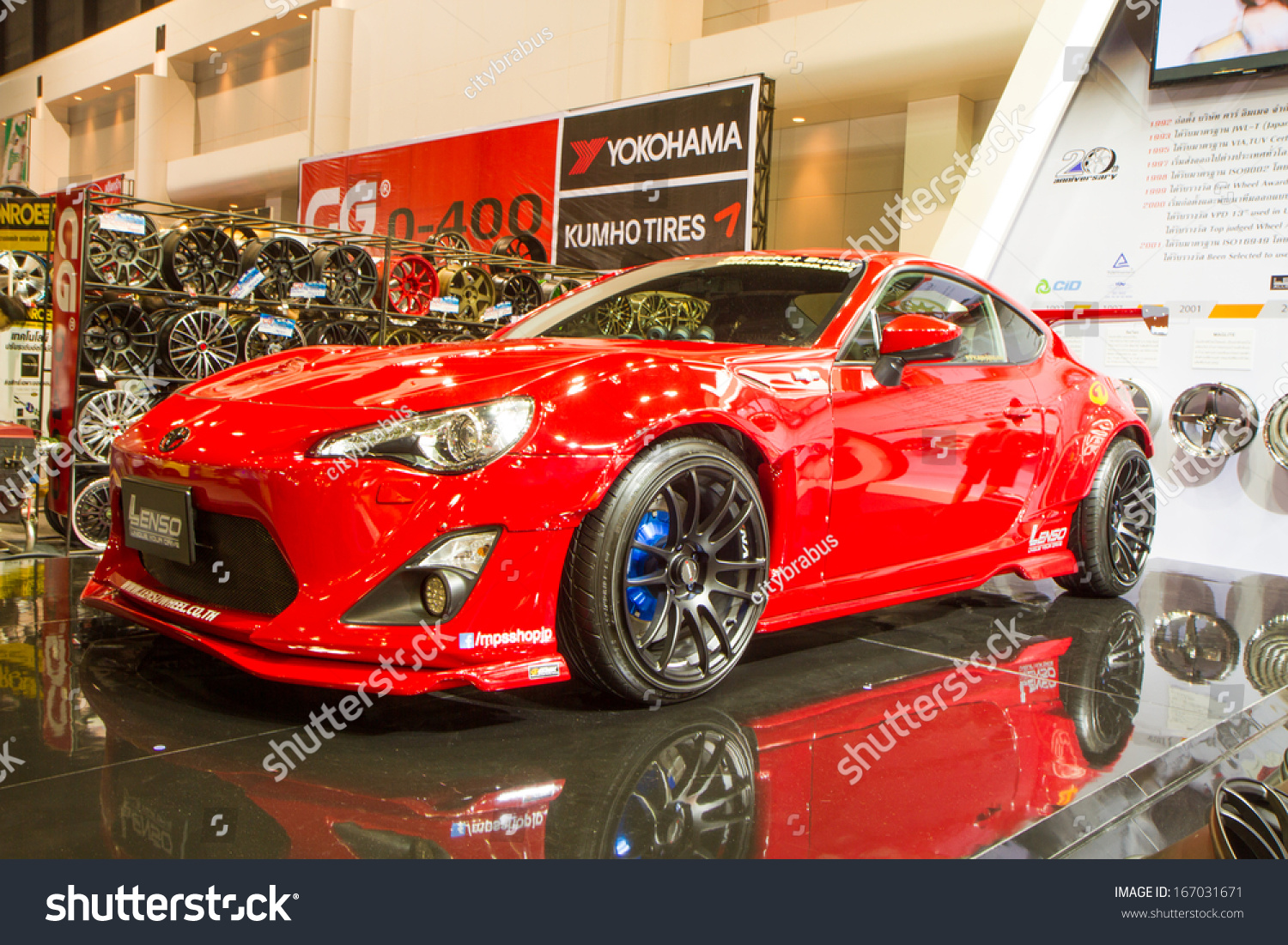 BANGKOK   December 9: Toyota 86 On Display At The 30th Thailand  International Motor Expo