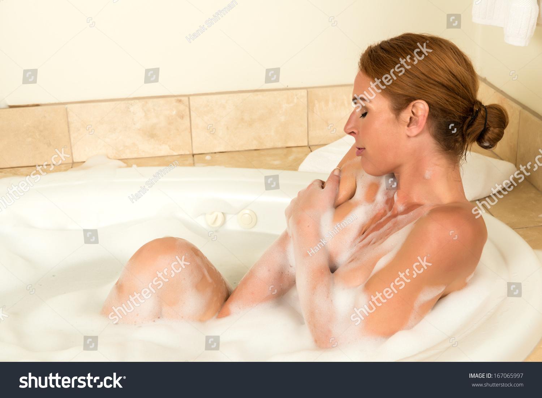 All clear, Bubble bath redhead right! like