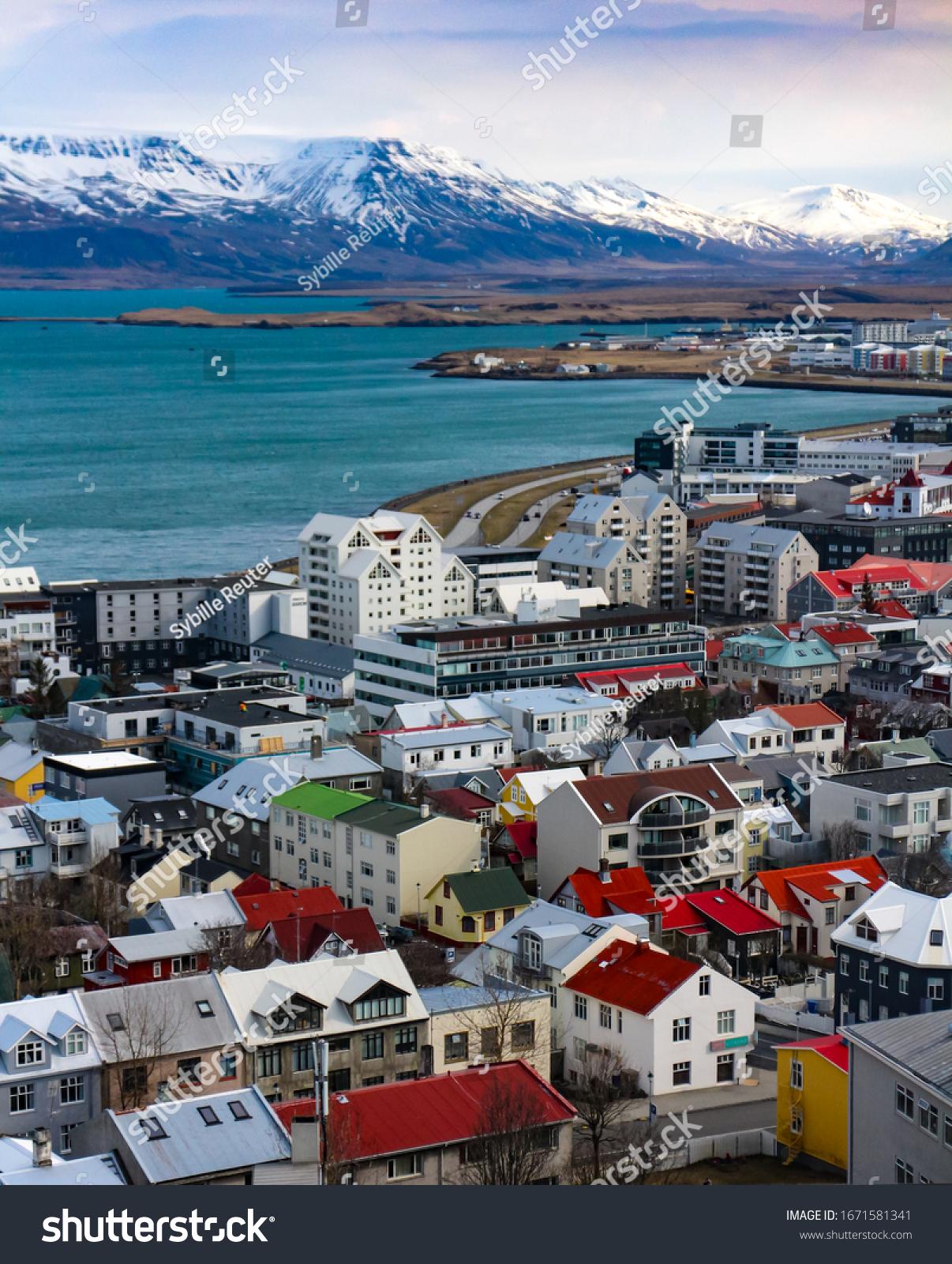 stock-photo-reykjavik-iceland-april-view