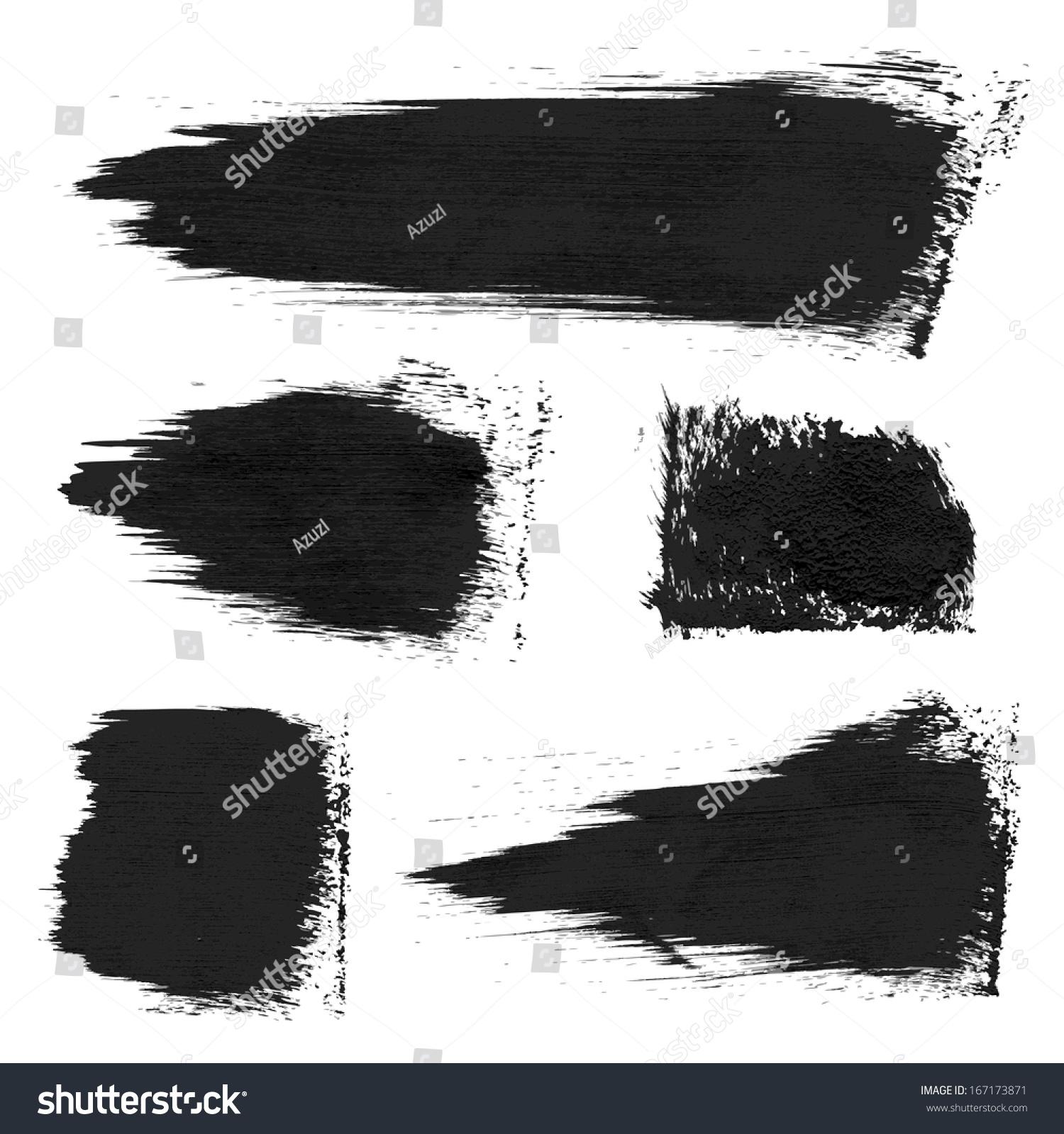 Papier A Peindre Epais image vectorielle de stock de impressions brutes et coups de