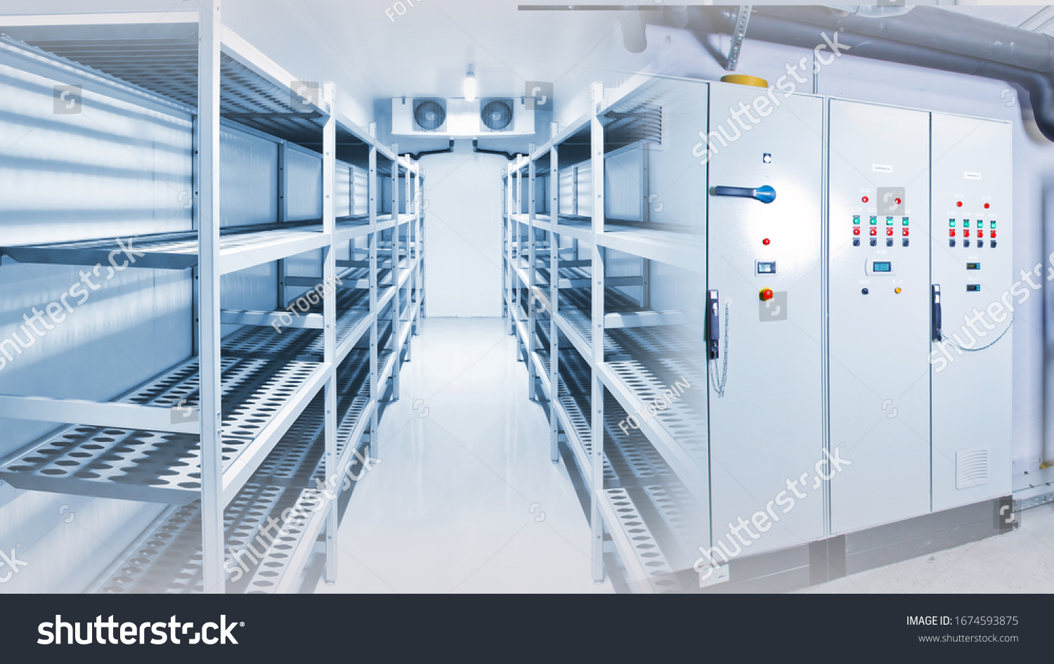 Refrigeration chamber for food storage #1674593875