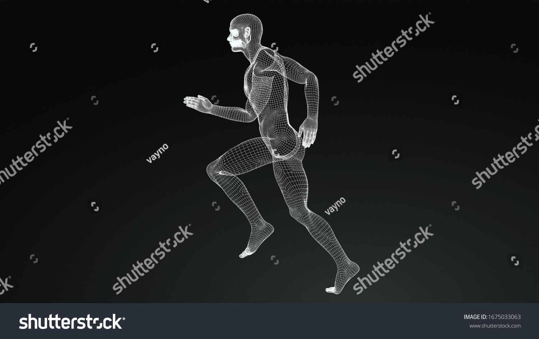 stock-photo--d-rendering-image-of-d-runn
