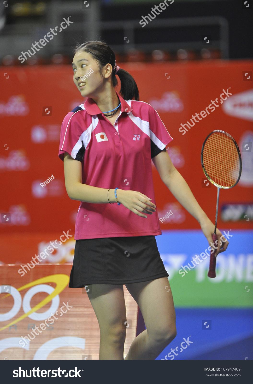 Bangkokthailand Nov 03 2013 Aya Ohori Stock