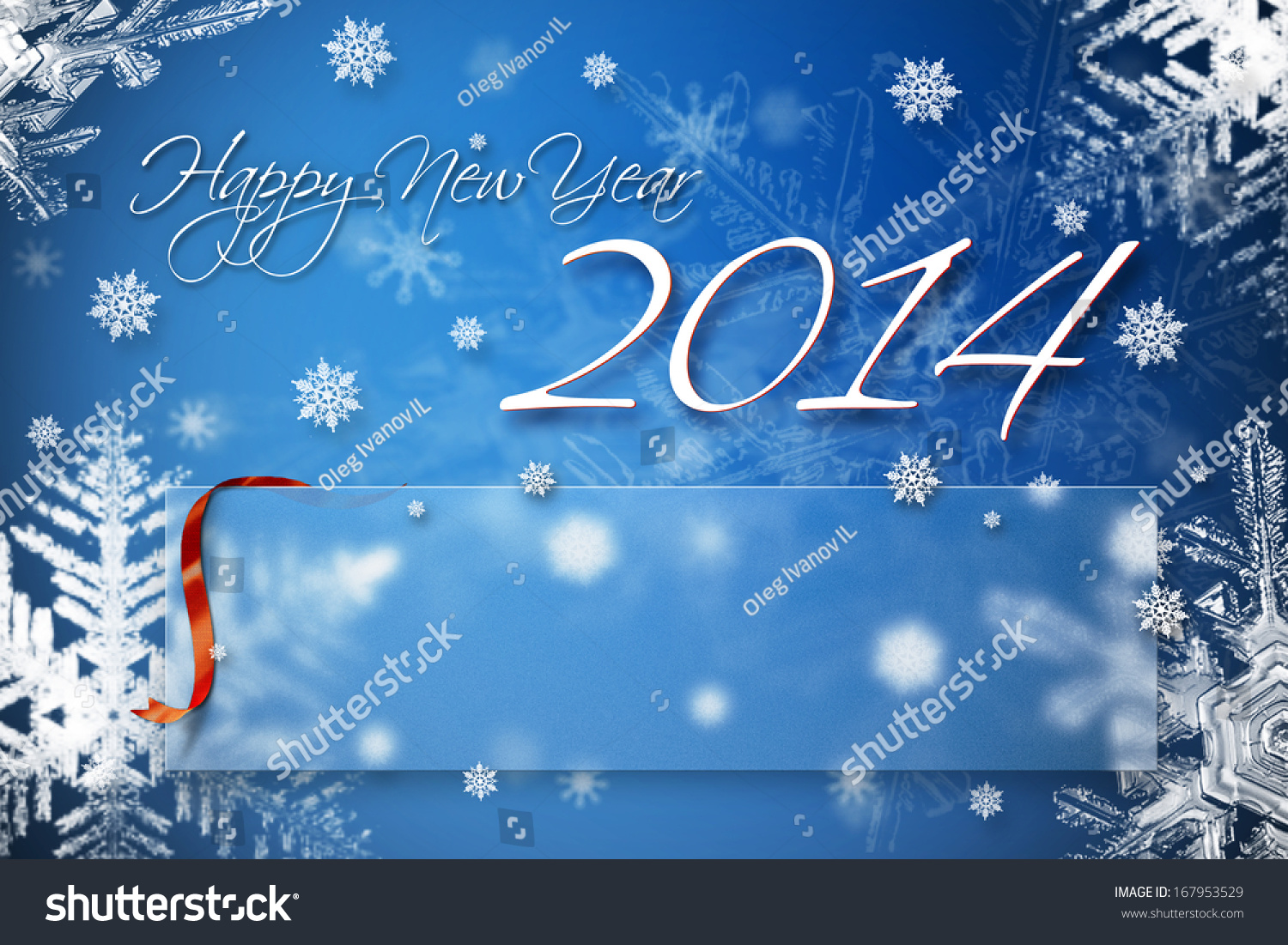 Happy new year 2014 greeting card stock illustration 167953529 happy new year 2014 greeting card with empty text box for your greetings and congratulations m4hsunfo