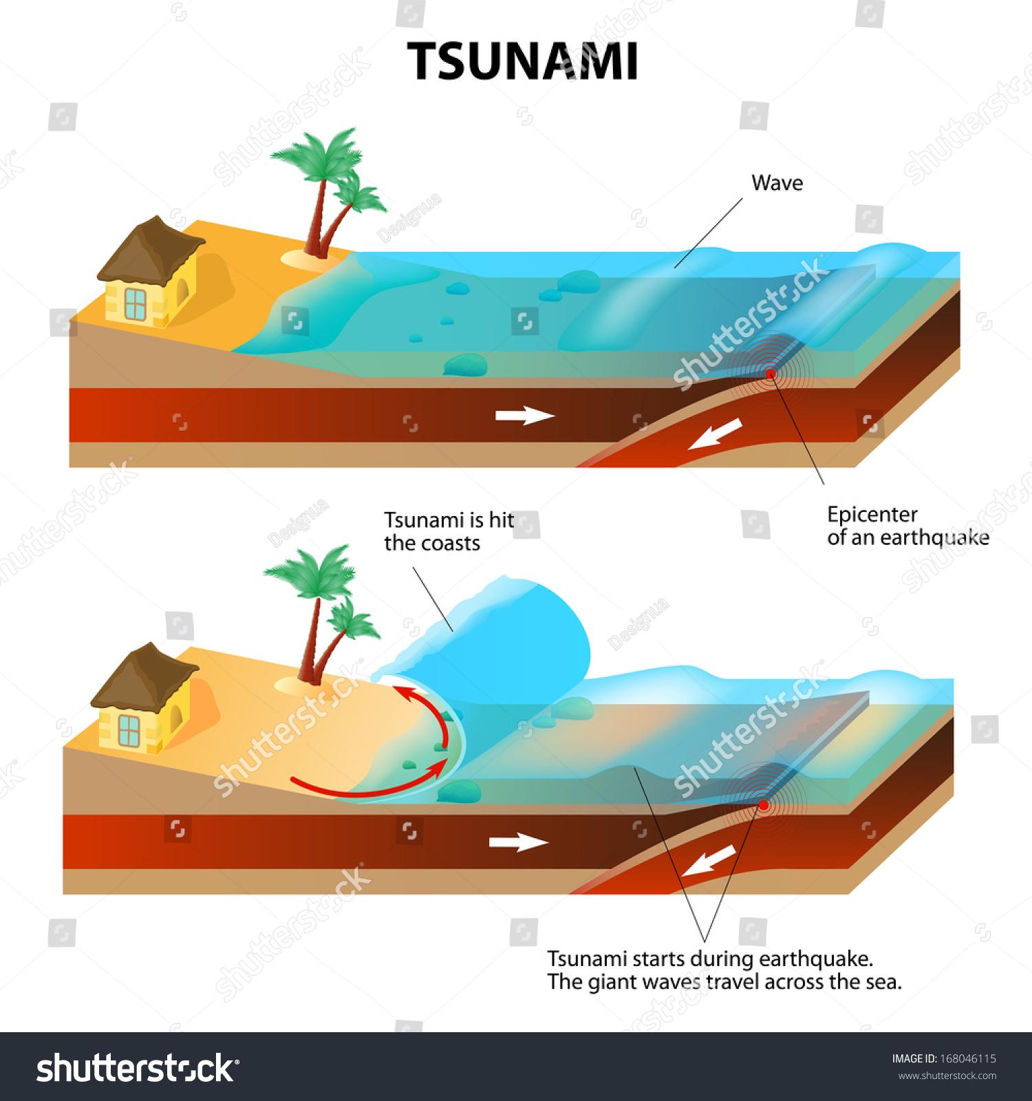 Tsunami Time Travel Graph