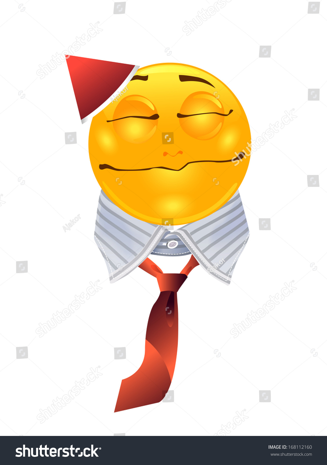 Office Christmas Party Icon Stock Vector (Royalty Free) 168112160 ...