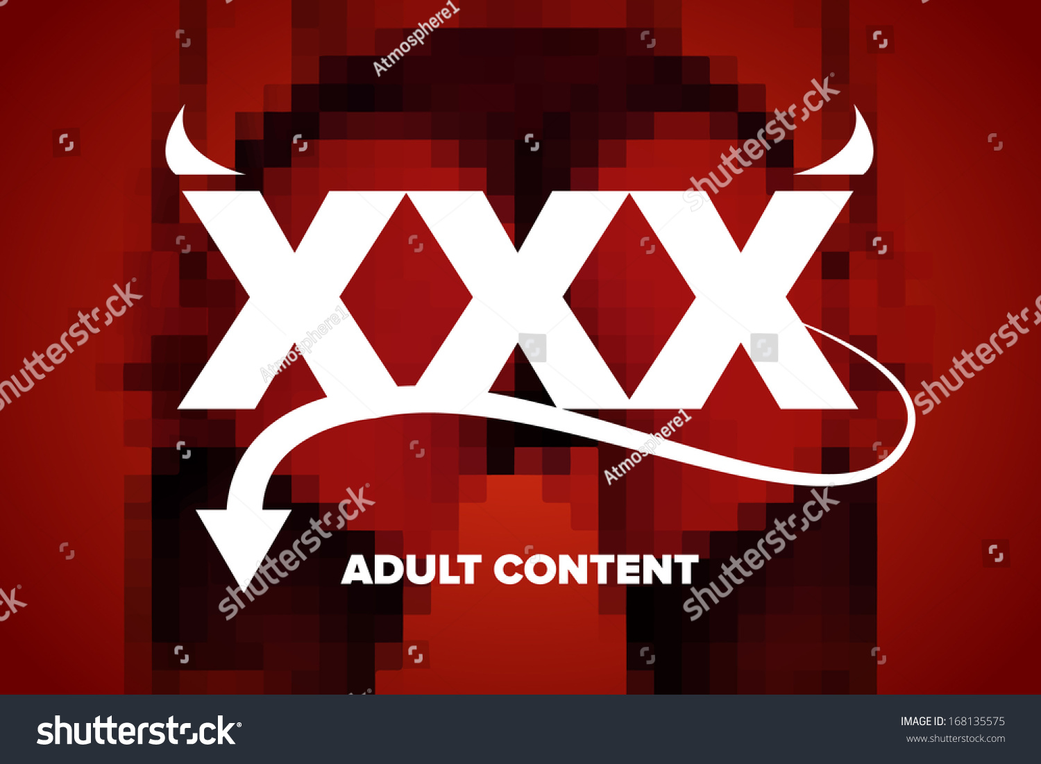 Adult Image Xxx xxx sexy adult content warning graphics stock vector