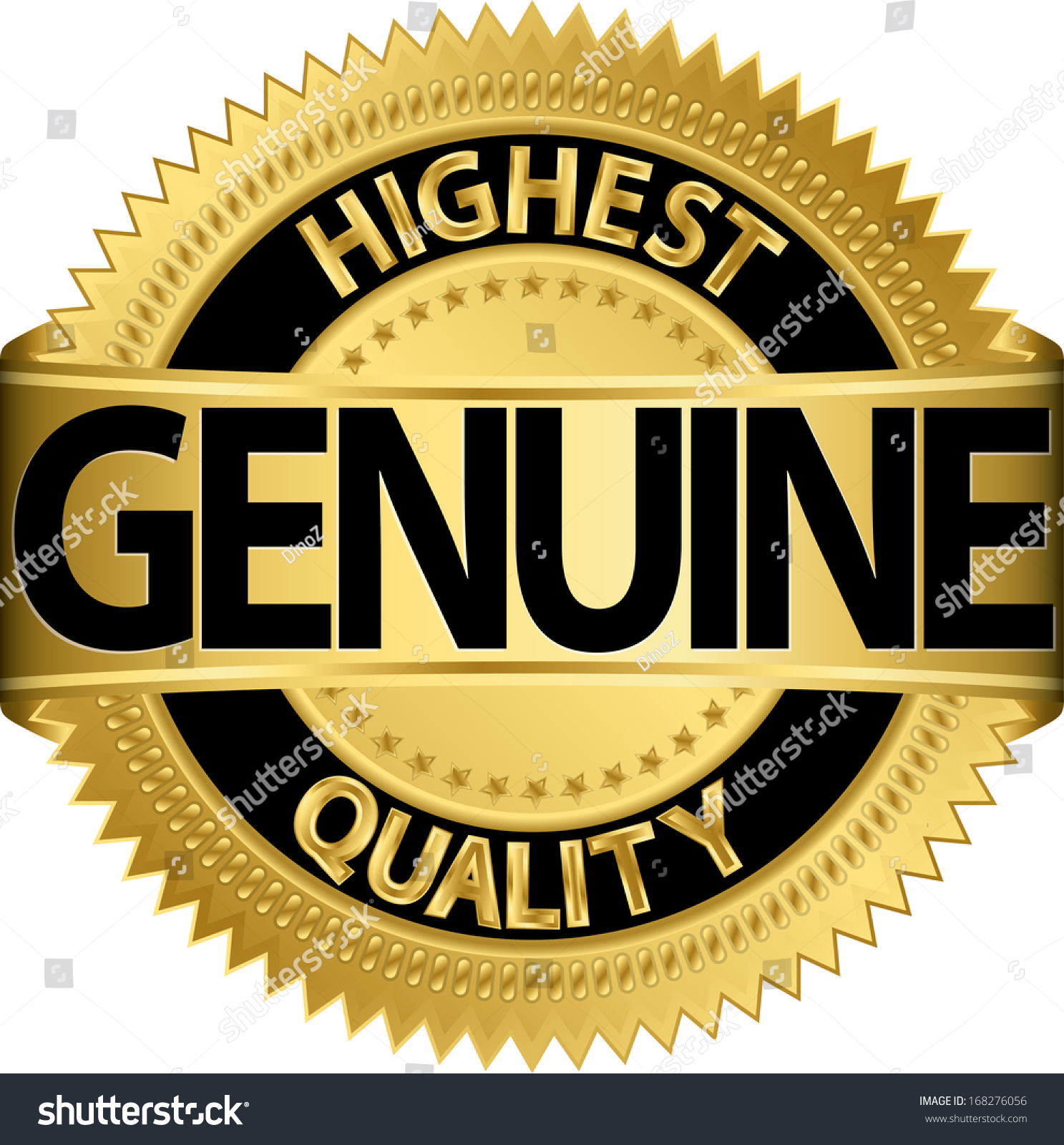label gold free quality round royalty best image stock hd sign vector