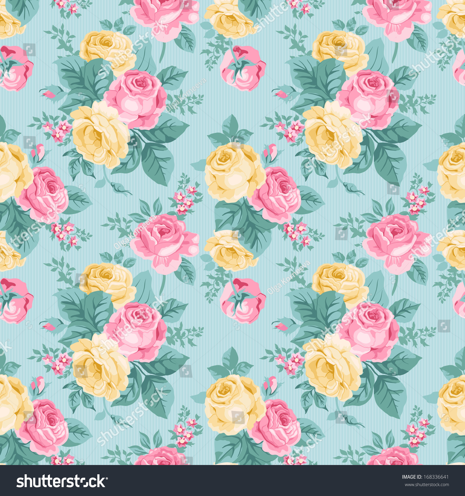 Seamless pink floral pattern - photo#44