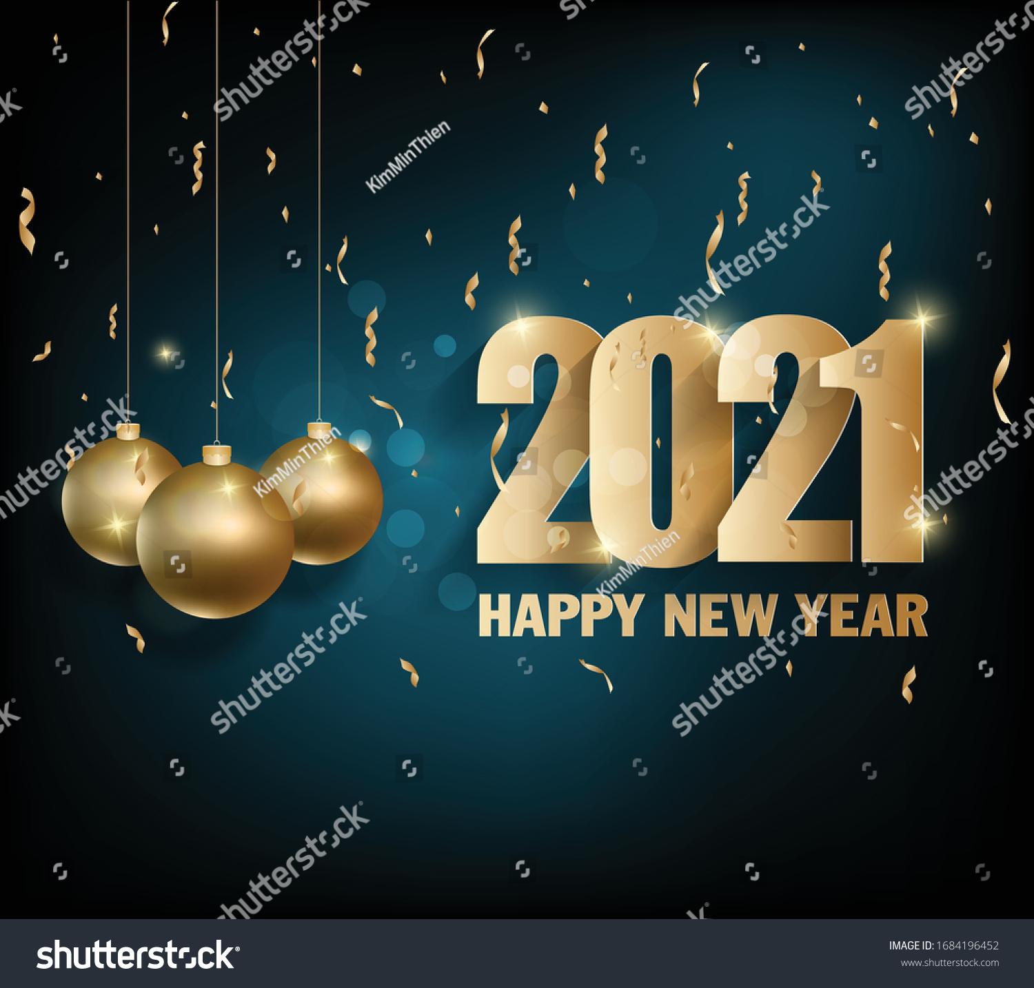 Merry Christmas & Happy New Year 2021 Banner Images Happy New Year 2021 Merry Christmas Stock Vector Royalty Free 1684196452