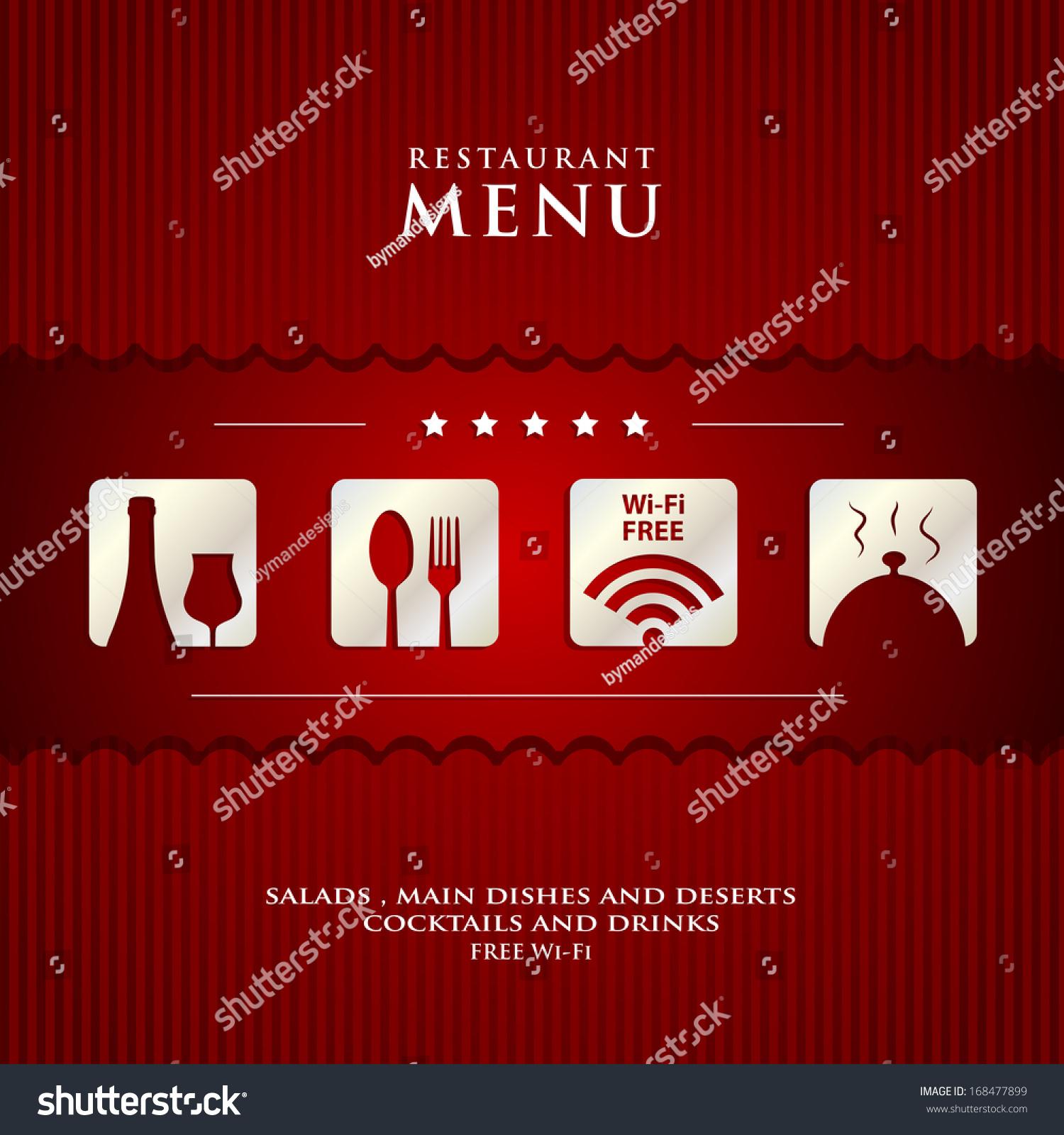 Restaurant Menu Design Background