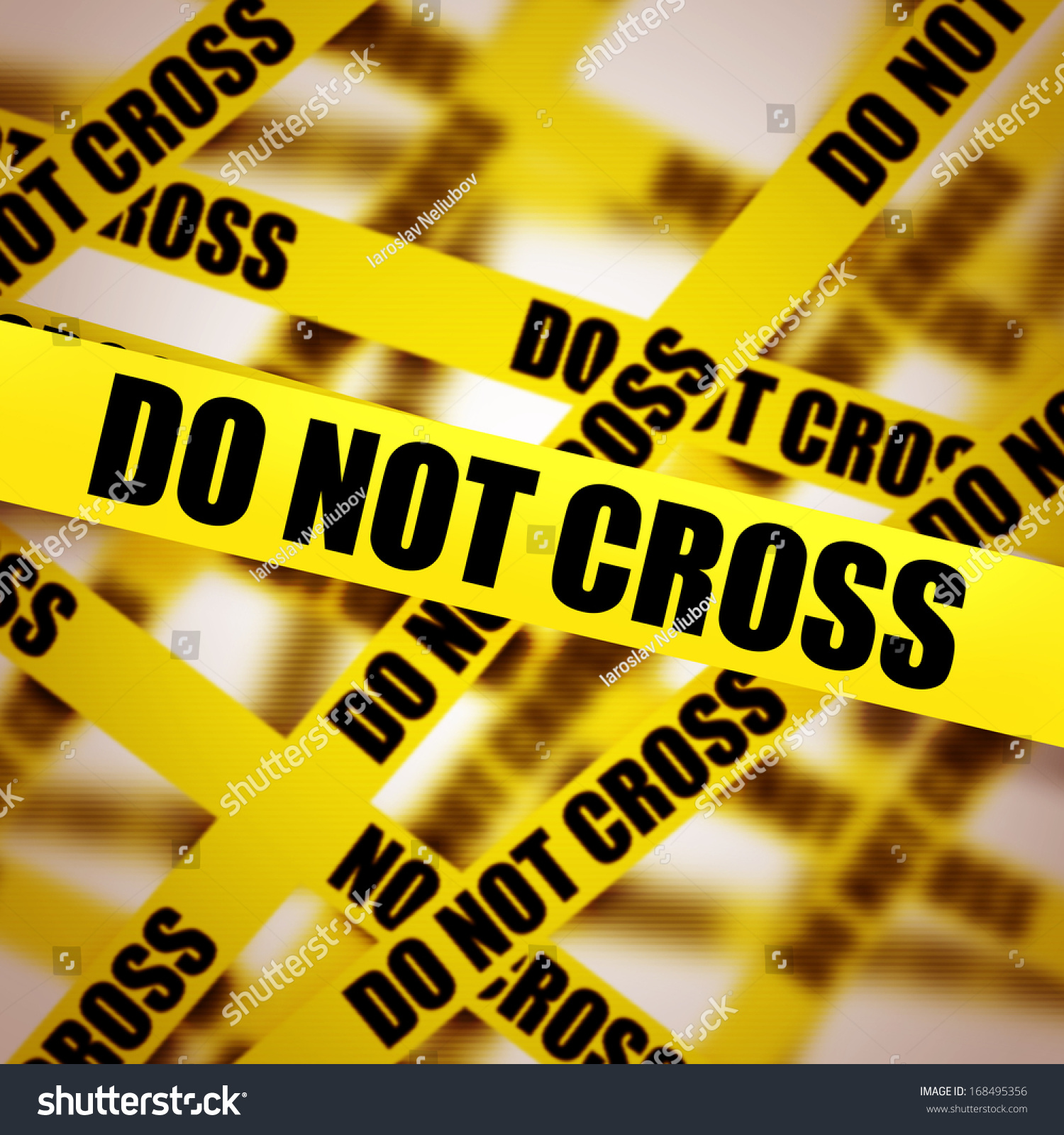 caution tape with do not cross background  high resolution stock photo 168495356   shutterstock