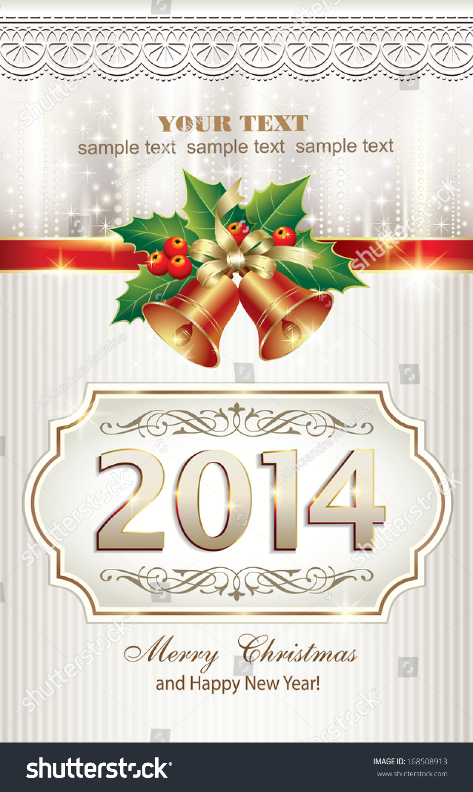 Christmas greeting card 2014 stock vector royalty free 168508913 christmas greeting card 2014 m4hsunfo