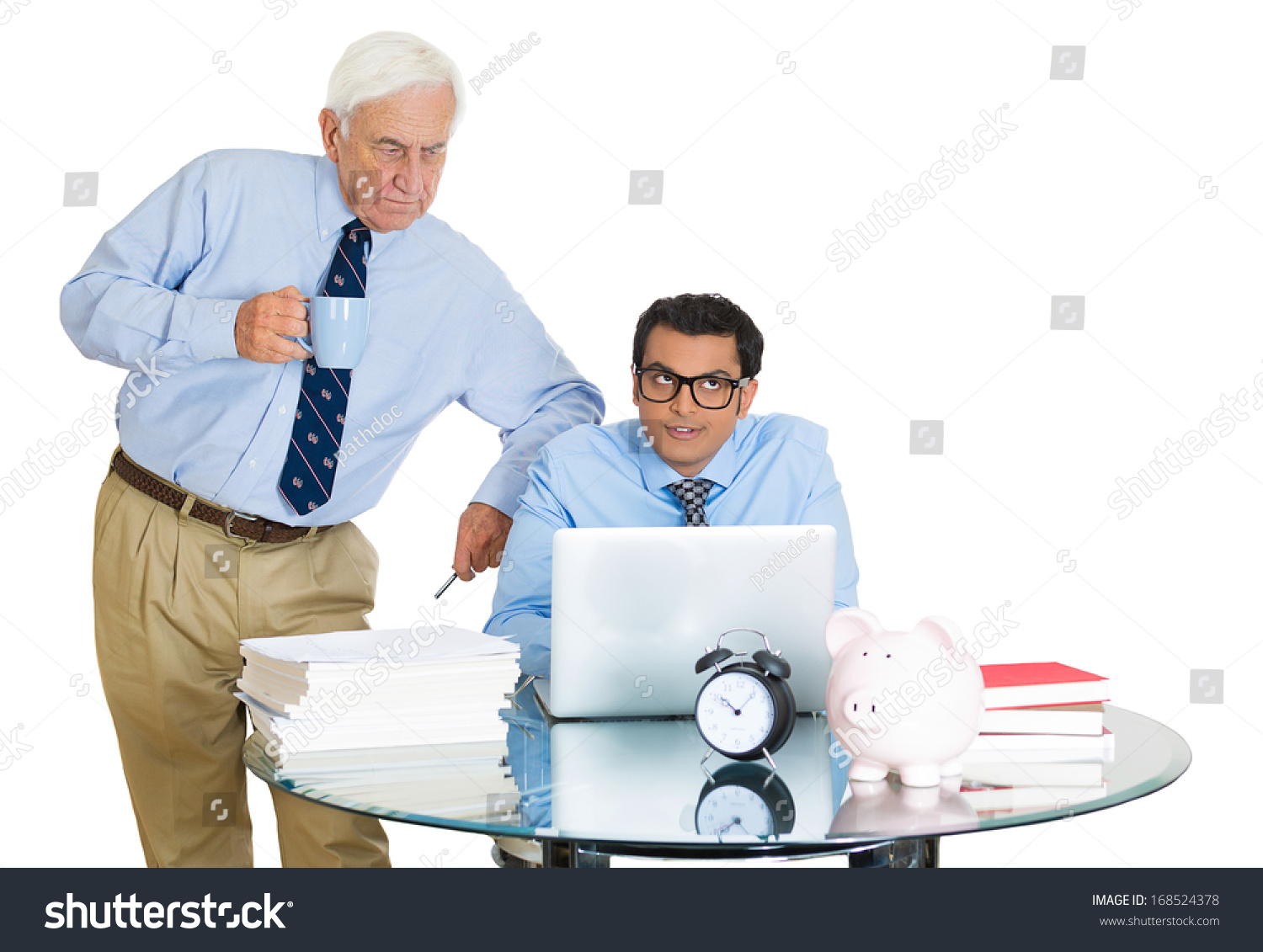 The Generation Gap at Work: Managing the Older Worker--or Younger Boss