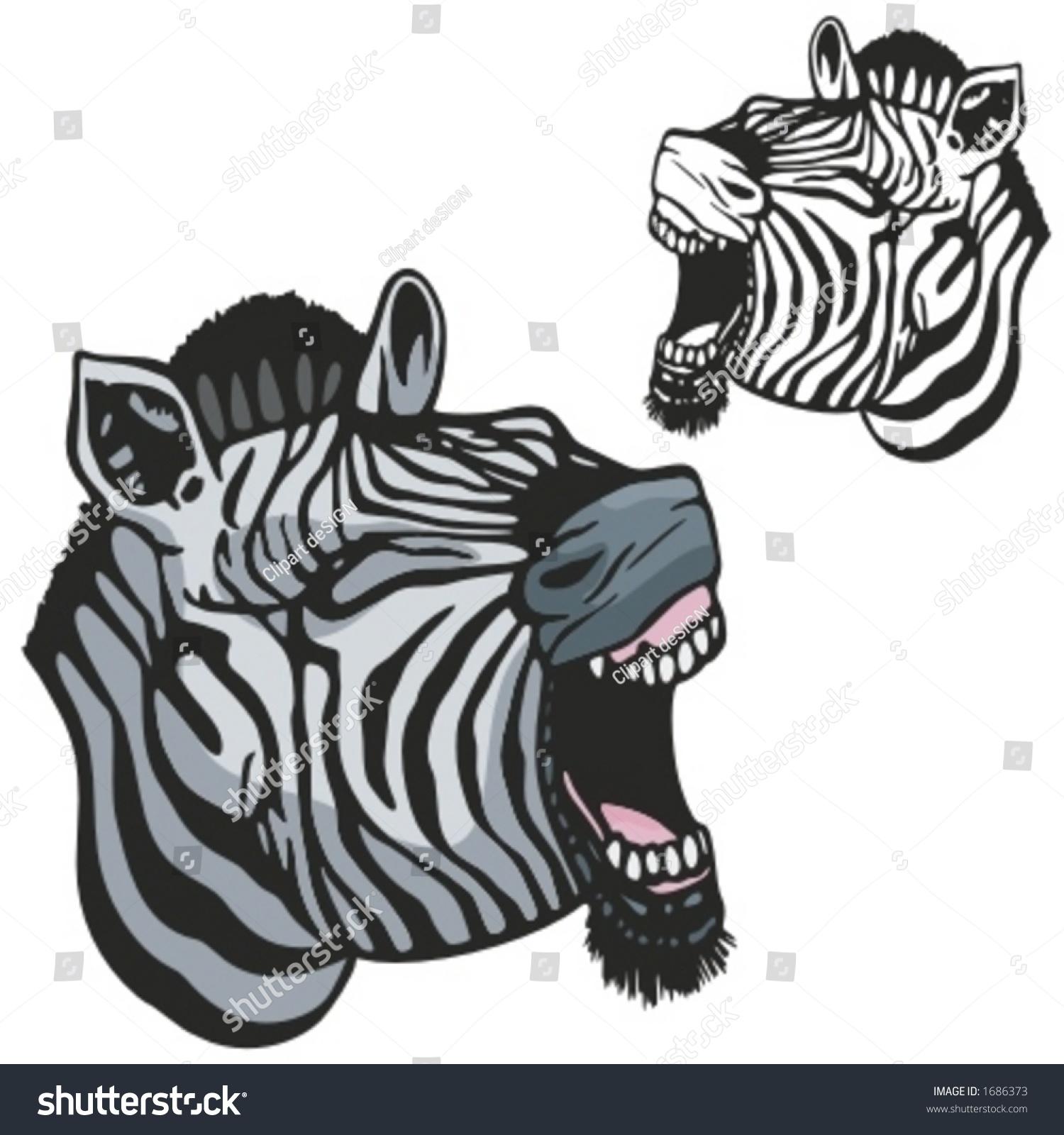 Zebra shirt design - Zebra Mascot For Sport Teams Great For T Shirt Designs School Mascot Logo