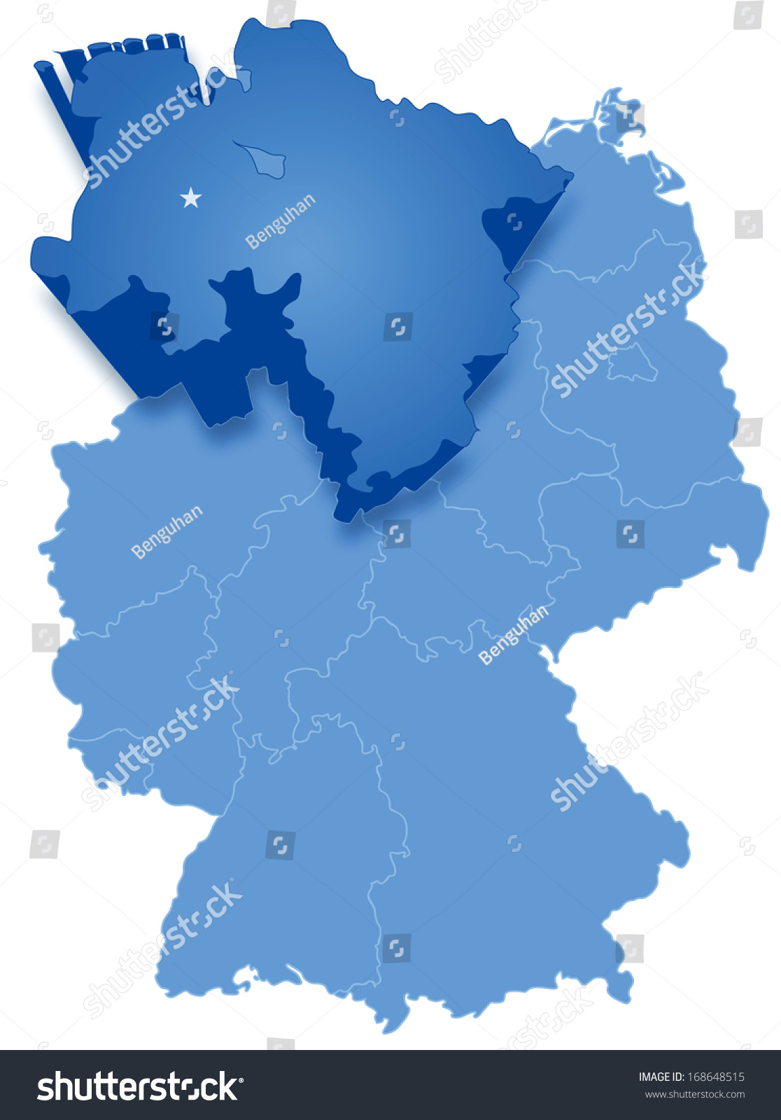 Map Germany Netherlands%0A Political Map Germany Political Map Germany Political map of Germany with  all states where Lower Saxony