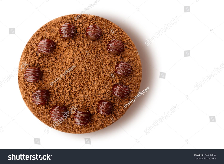 Chocolate Cake Shot Above Stock Photo 168649856 - Shutterstock