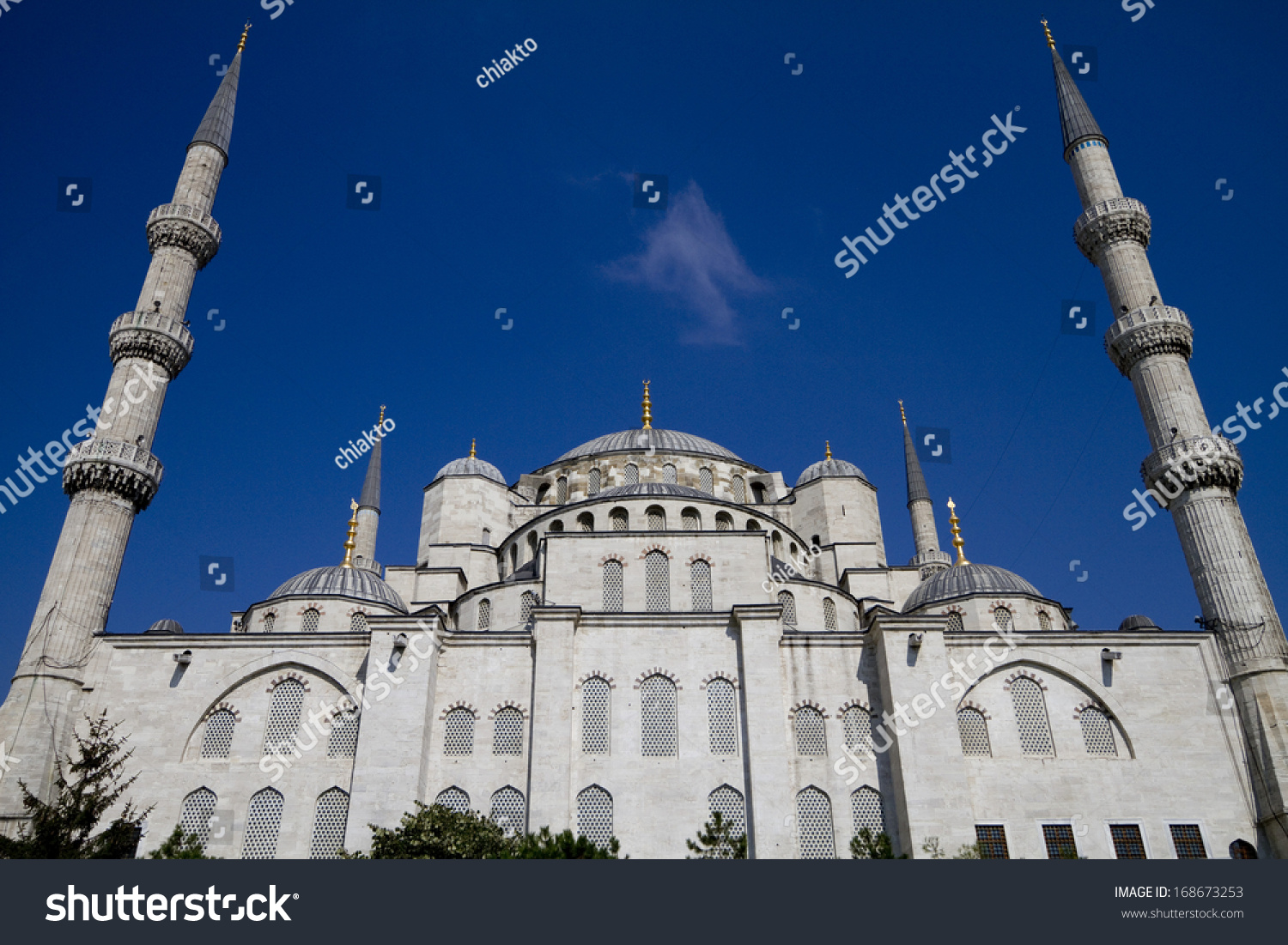 Blue mosque istanbul turkey stock photo 168673253 for Blue istanbul hotel taksim