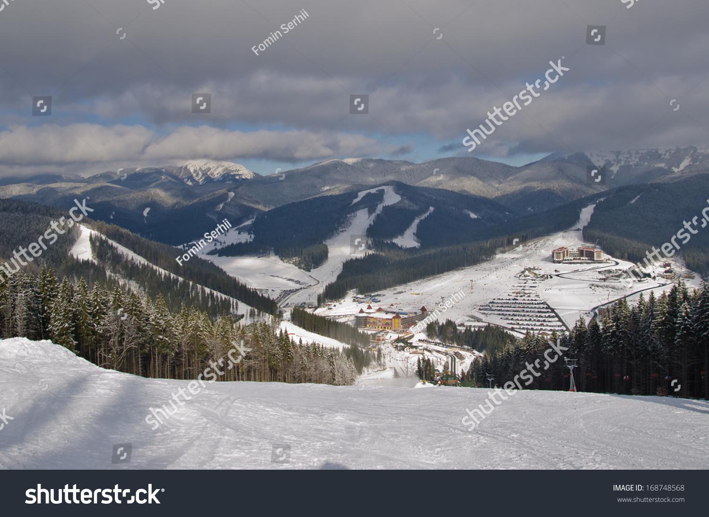bukovel ski resort stock photo (edit now) 168748568 - shutterstock