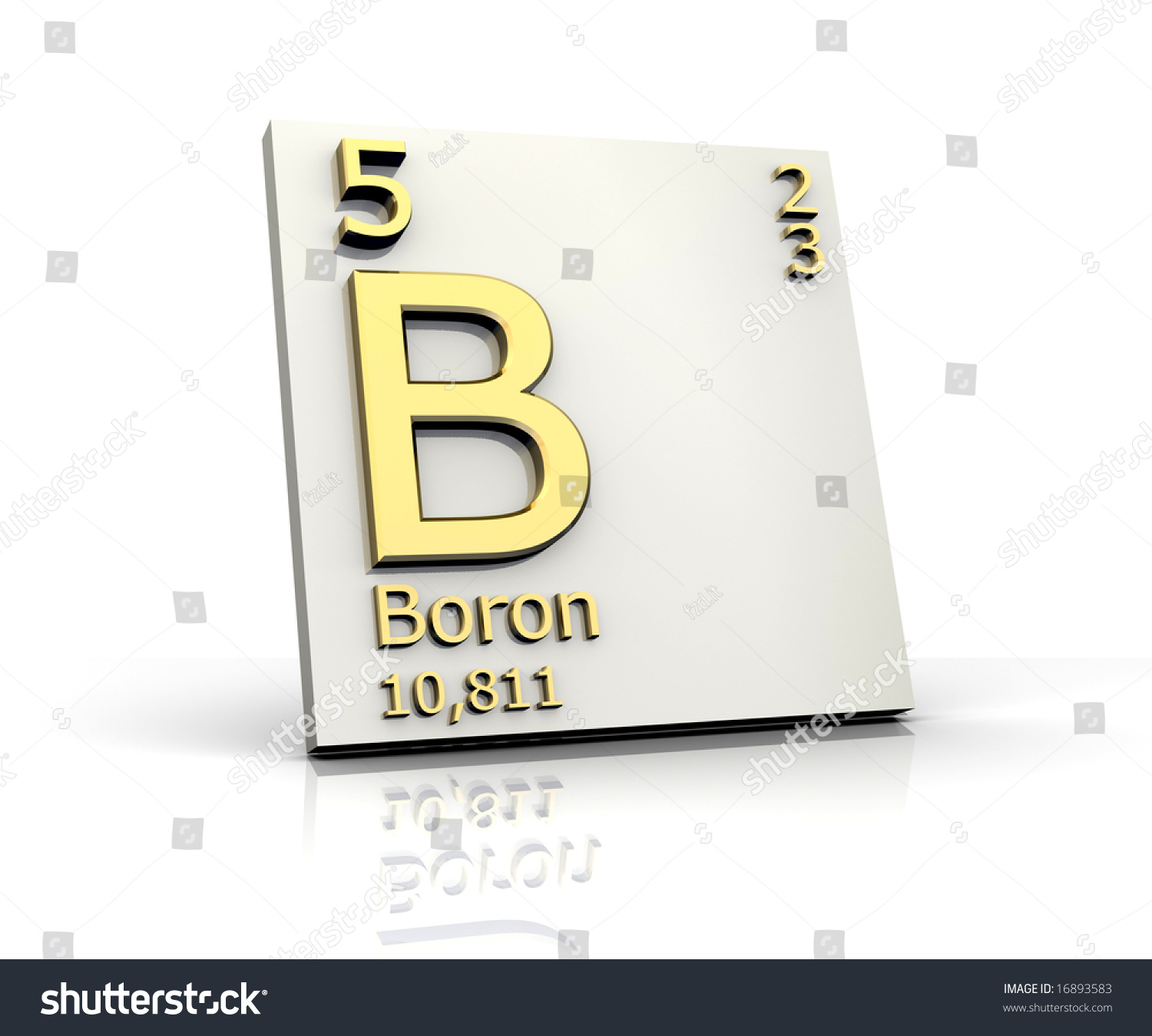 Boron periodic table elements stock illustration 16893583 boron from periodic table of elements buycottarizona