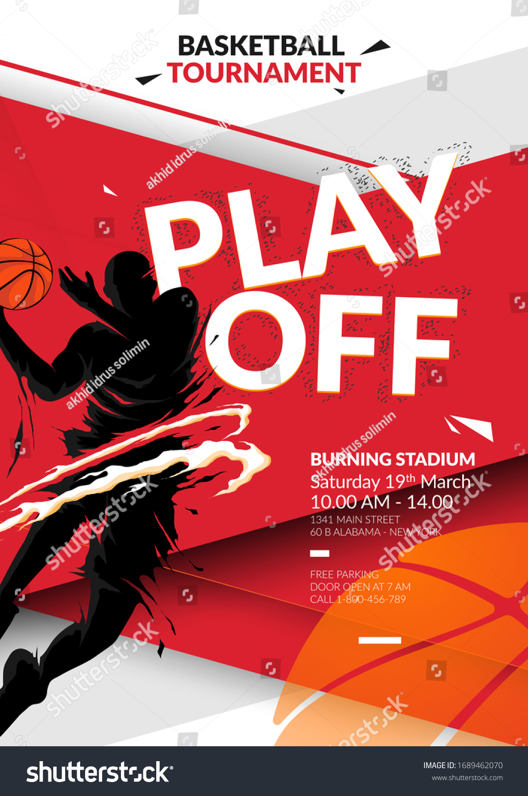 Free Basketball Tournament Flyer Template from image.shutterstock.com