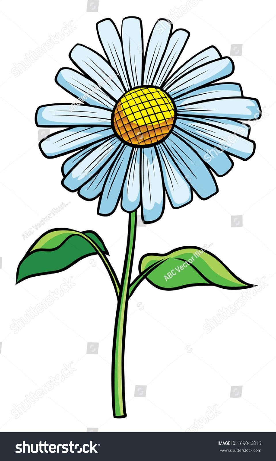 Daisy flower cartoon illustration stock illustration 169046816 daisy flower cartoon illustration izmirmasajfo