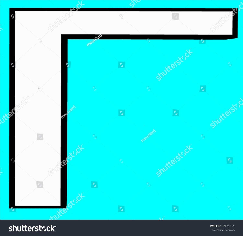 Gamma Greek Letter Greek Alphabet Script Stock Illustration