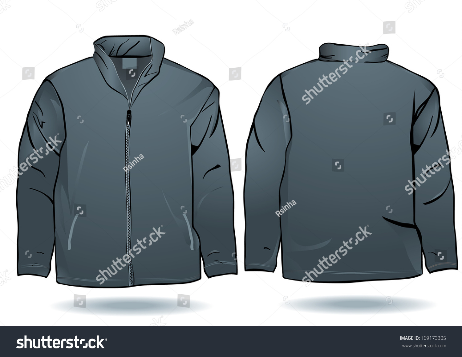 Black Jacket Template kmRs8J