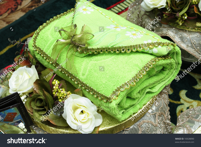 Towel Folded Appear Like Handbag Will Stock Photo Edit Now