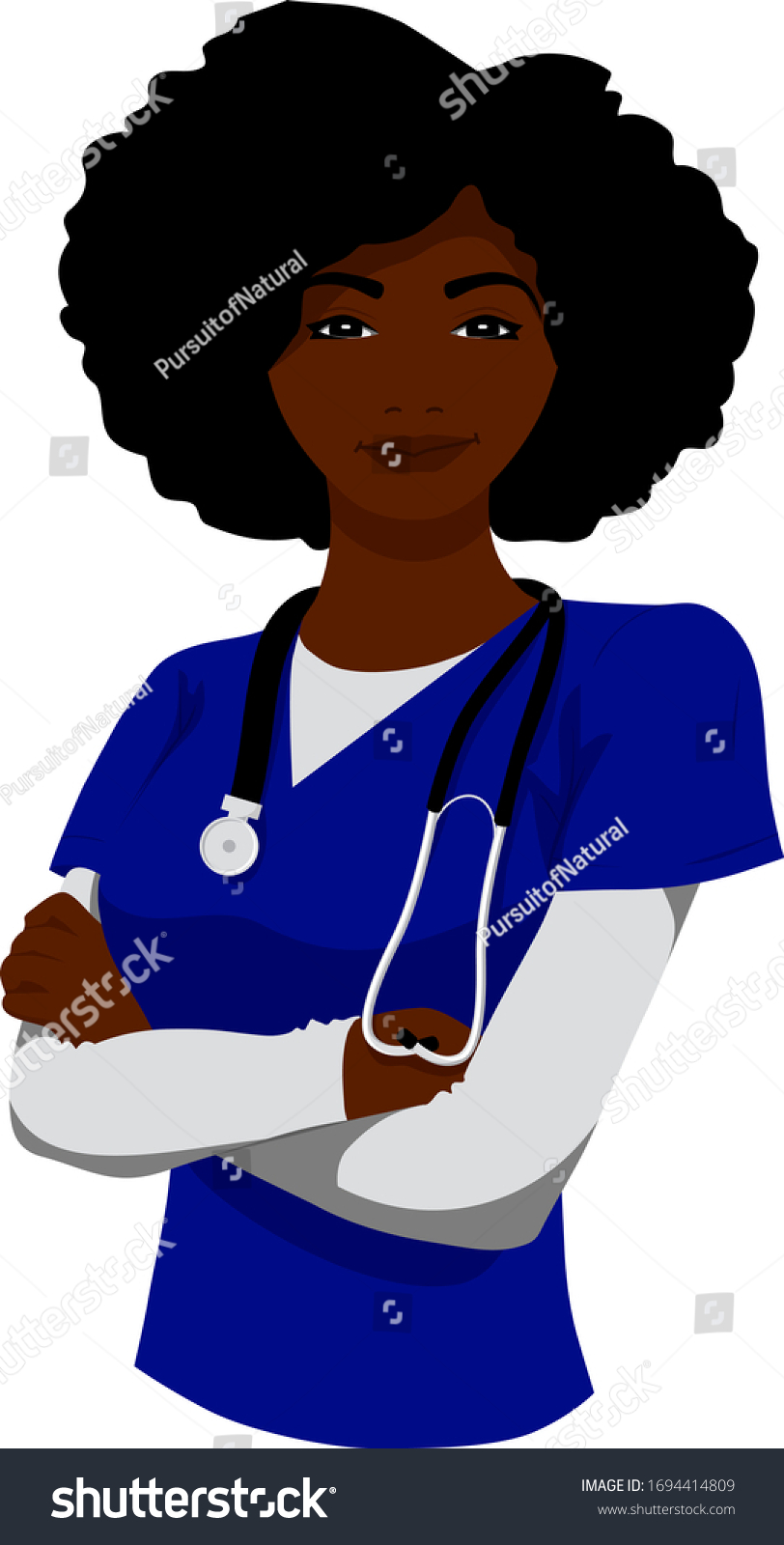 Embroidery Nurse Stethoscope Heart heartbeat Queen African Black woman legs Design Machine Nurses quarantine healthy lifestyle beauty health