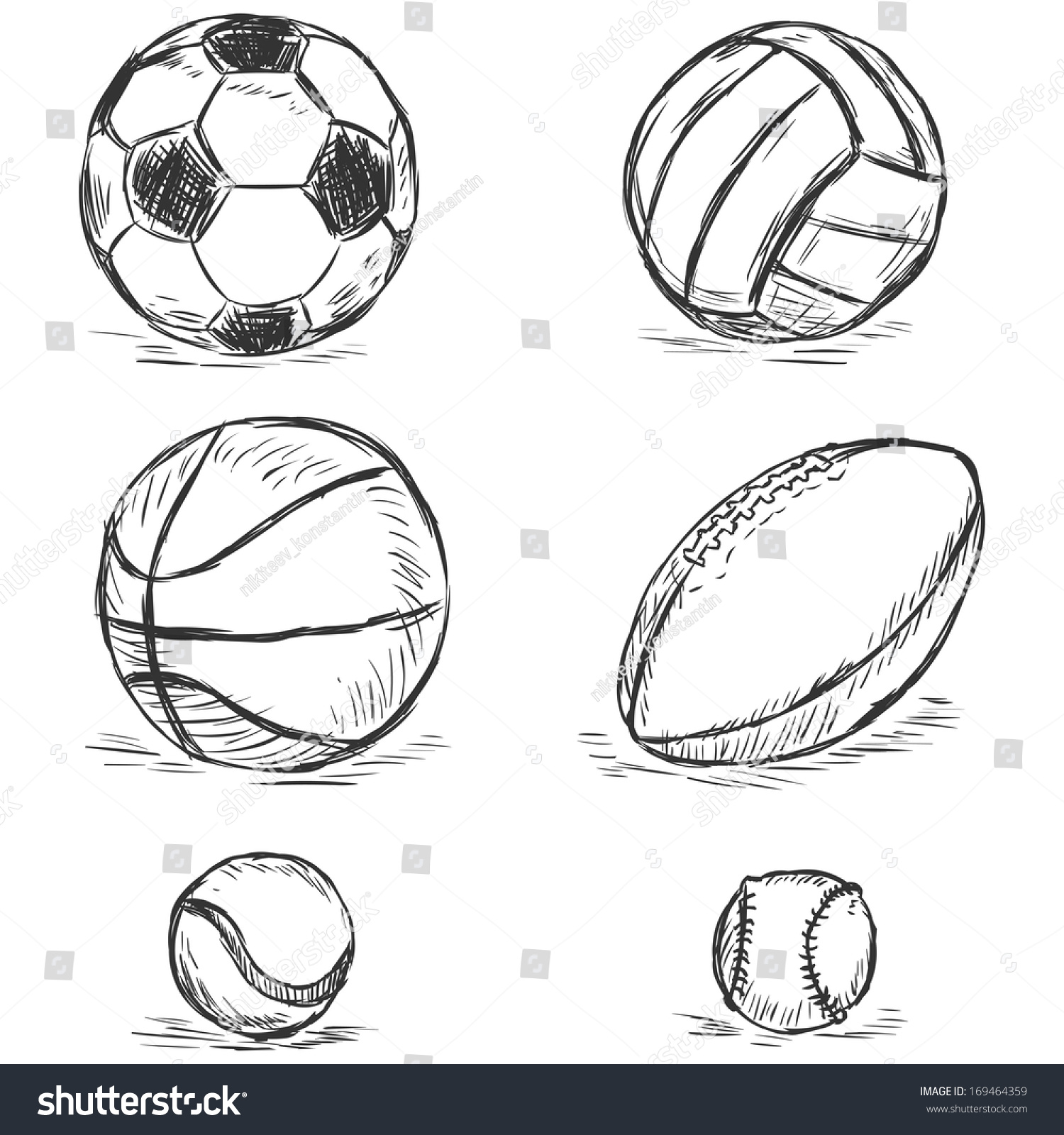 how to draw a afl ball