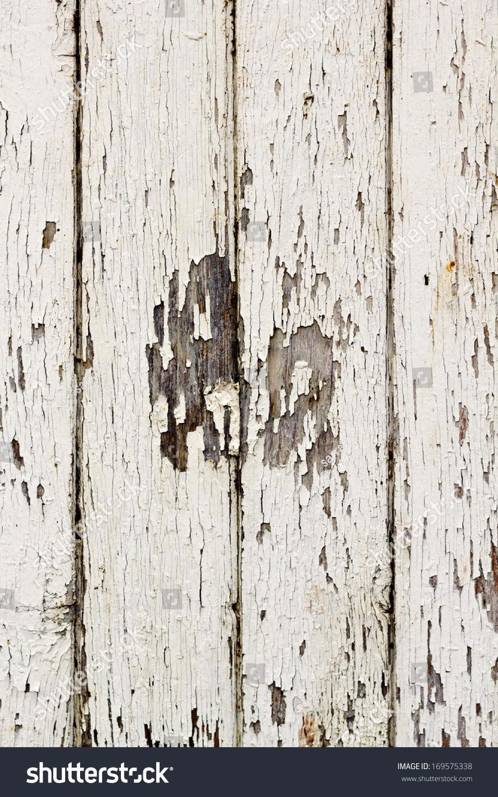 White Texture Old Wooden Door Stock Photo 169575338 ...
